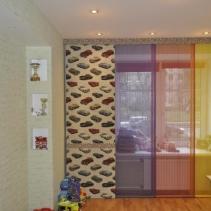 японские шторы для детской комнаты мальчика
