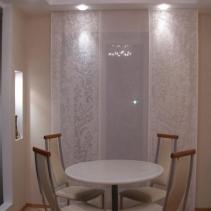 японские панели шторы для столовой