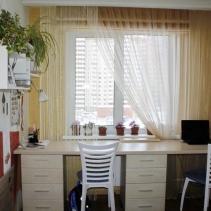 нитяные шторы в кабинет