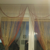 Рулонные шторы день ночь открытые