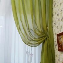 шторы в детскую зеленые