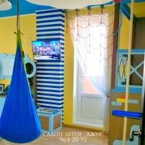 шторы для детской морская тематика