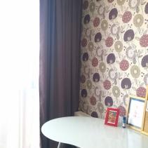 шторы в детскую комнату сиреневые