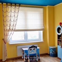 шторы для мальчика в детскую