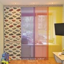 японские шторы панели в детскую комнату