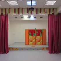 шторы в детский сад актовый зал