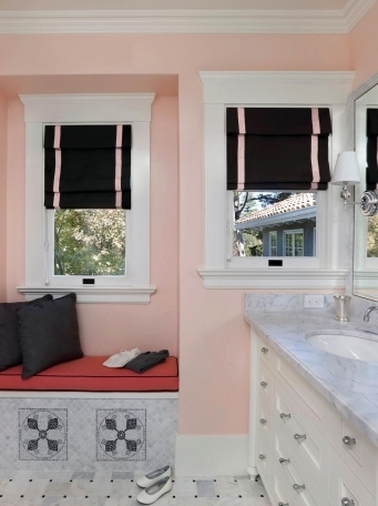 Black And White Bathroom Window Curtains - Window Curtains Designs and Ideas